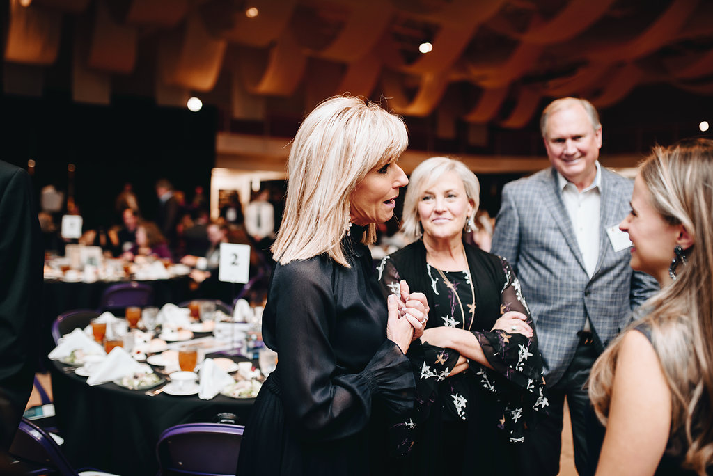 Beth Moore (Christy finalist author) with Karen Watson and Byron Williamson